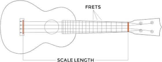 ukulele scale