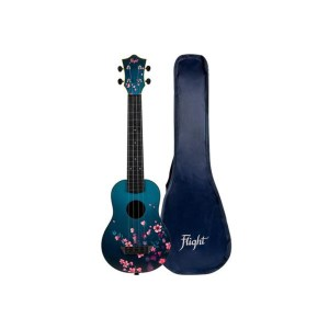 TUSL32 Concert Long Neck ABS Travel Ukulele