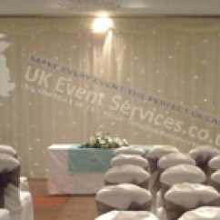 Wedding Chair Covers Gloucester Eames Design History Uk Event Services - Venue Drapes, Black Draps, Ivory Room Drape Services, Starcloths ...