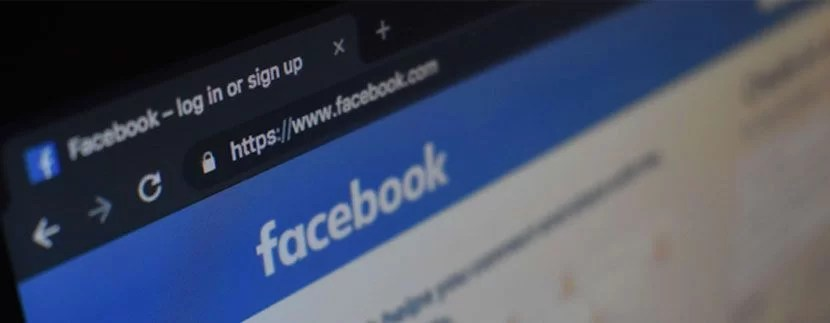 facebook home page