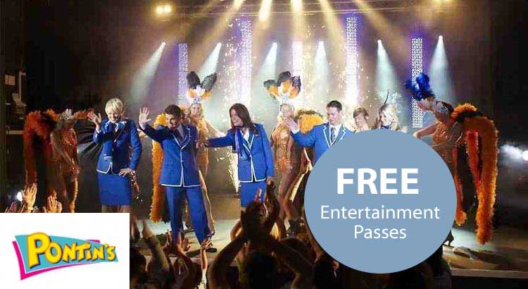 pontins offer code plus free entertainment