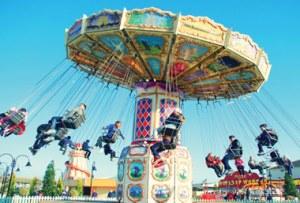 Fairground at Skegness Butlins