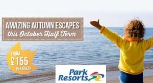 Park Resorts October Half Term Holidays from £189