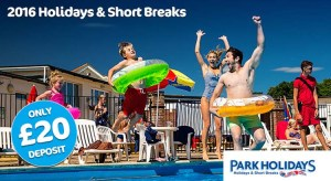 Park Holidays UK 2016 Early Bird Offers from just £69