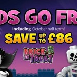 Legoland Holidays October Half Term from £36pp – Kids go FREE + Save up to £86 per Family