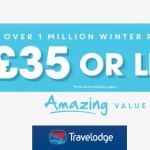 Travelodge Winter Offers-  Rooms now under £35