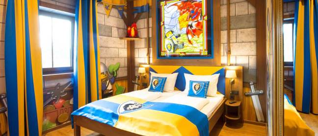 The Knights Room in the Castle Hotel Legoland