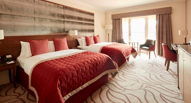 Celtic Manor luxury hotel rooms