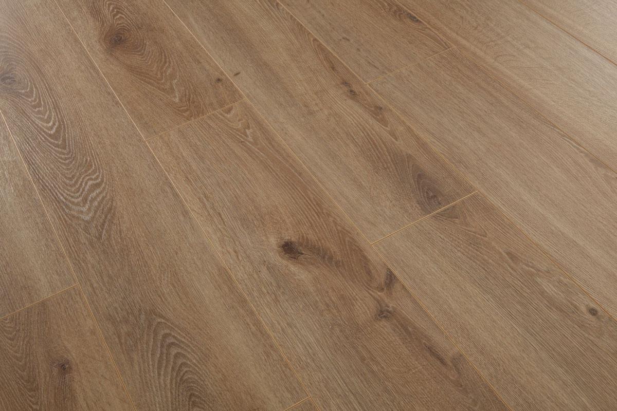 Series Woods Professional 10mm Laminate Flooring Oak Light