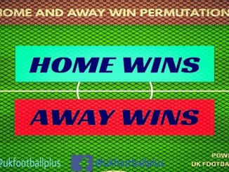 Home and away wins