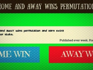 Home and away win