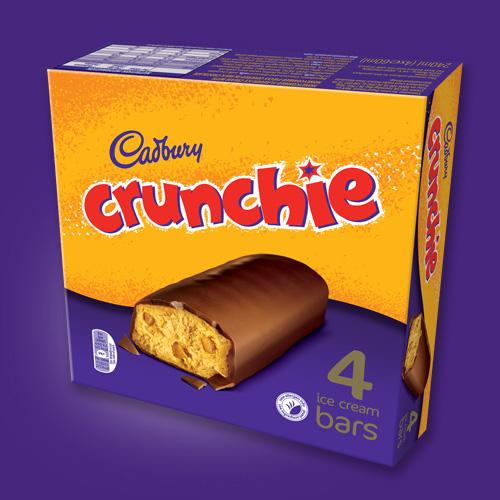 Cadbury Crunchie Ice Cream Bar – UK Frozen Food