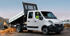 Vauxhall Movano Tipper