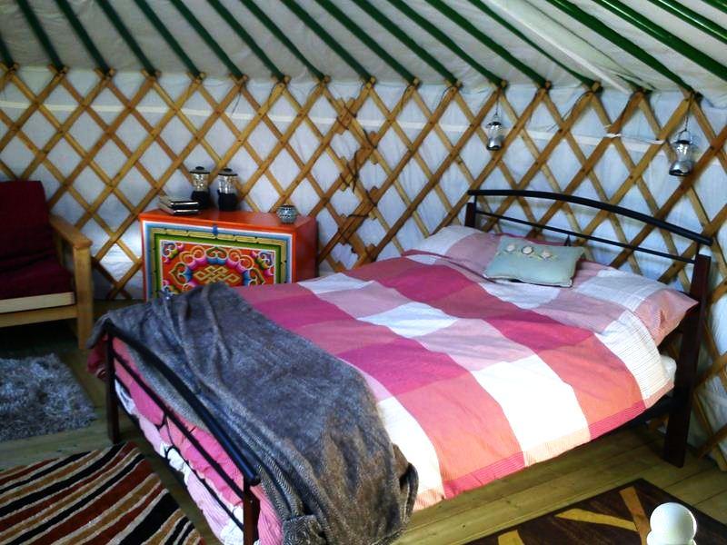 exmoor yurt