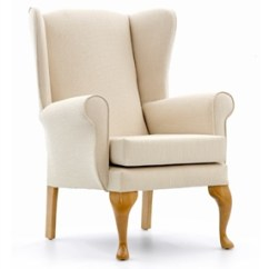 High Back Chairs With Arms Banquet Chair Covers In Bulk For The Elderly Alexander Wing
