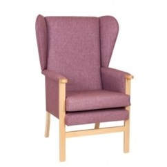 High Backed Chairs For The Elderly Staples Turcotte Chair Back Ava Fully Upholstered Lounge
