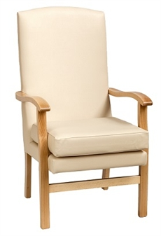 high backed chairs for the elderly drive shower chair with back fast delivery bella cream vinyl