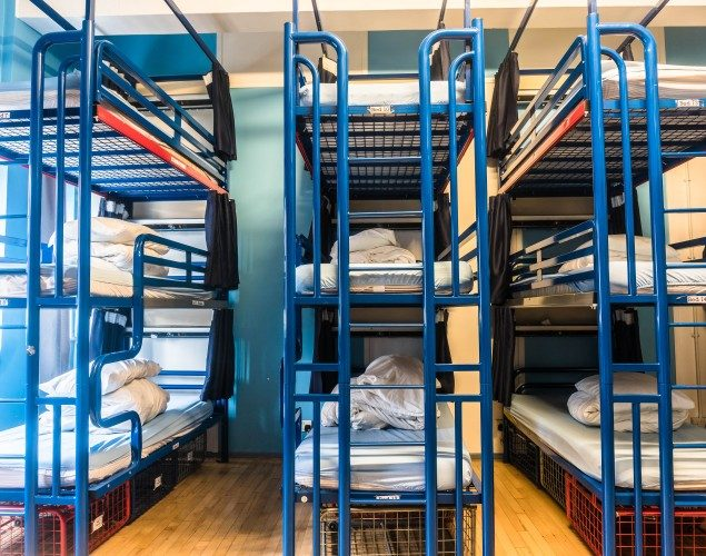 15 Bed Mixed Dorm Bunk Bed