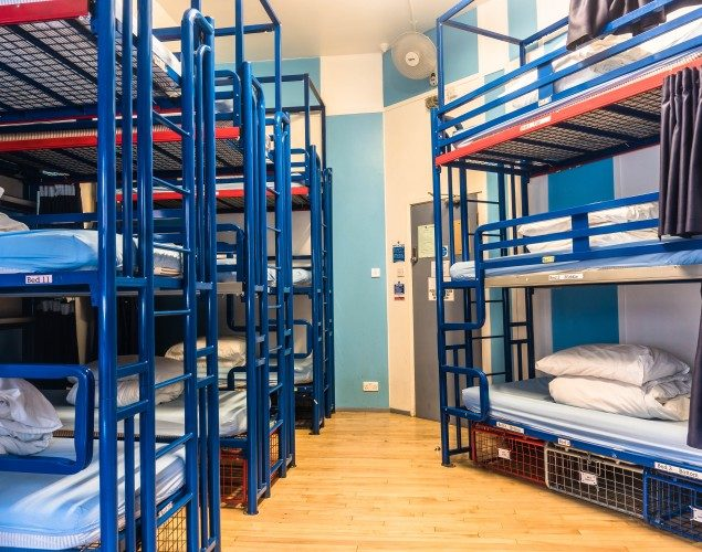 15 Bed Mixed Dorm Beds
