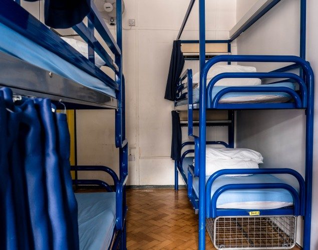 6 Bed Mixed Dorm Bunk Bed