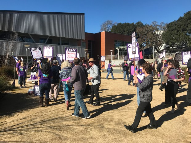 Mendocino College Campus Map.Mendocino College Staff Protest Amid Stalled Negotiations The