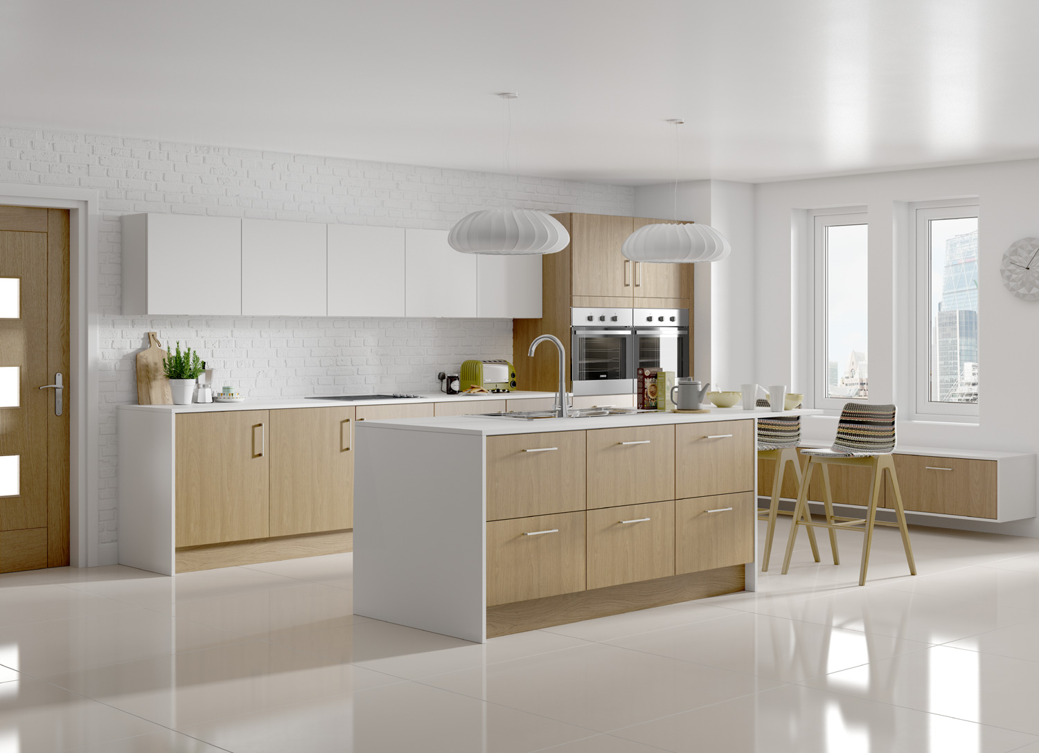 UK Kitchens and Bathrooms  Symphony Kitchens Virginia Oak