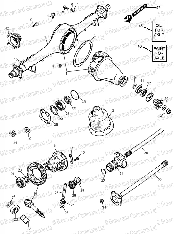 Find stc3281 rear axle. Shop every store on the internet