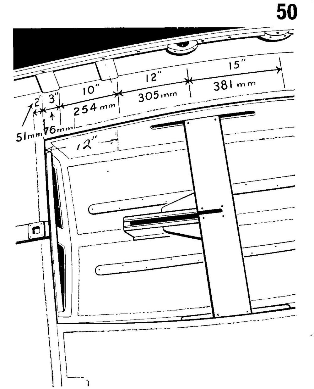 medium resolution of in the early days the standard wooden mirror dinghy was equipped with wooden jib fairleads fixed to the inner gunwale