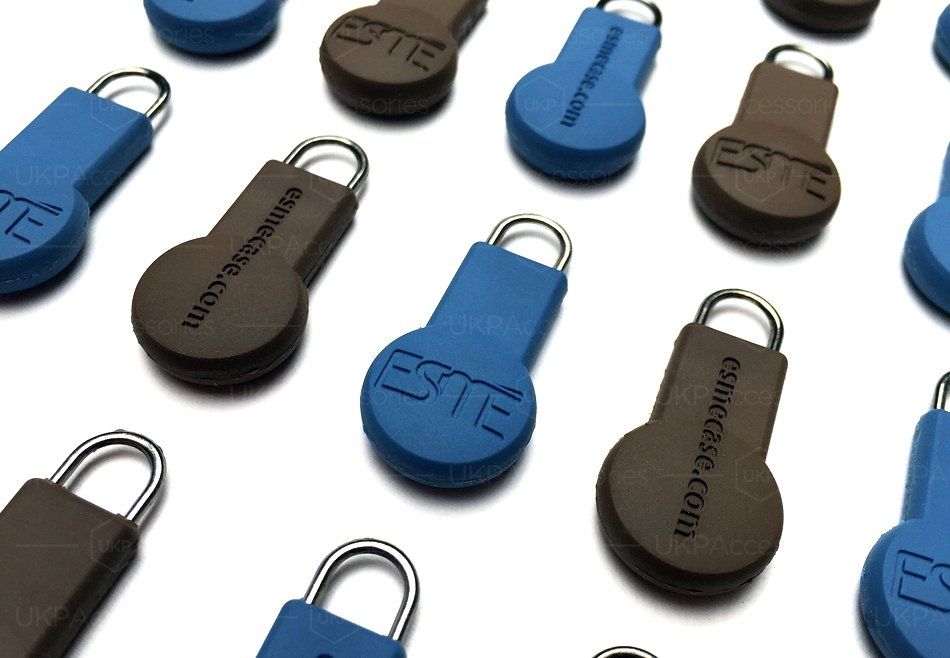 Custom Zipper Pulls | U.K.P. Accessories