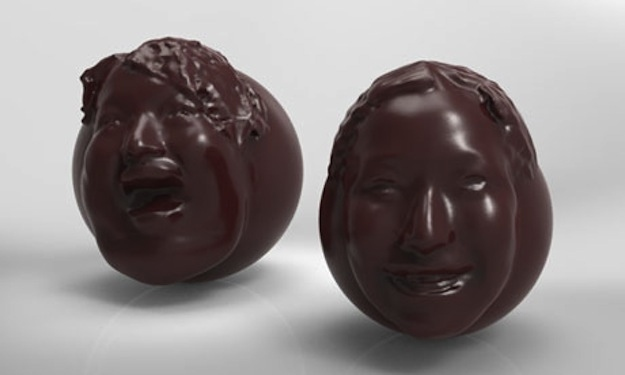 face chocolate