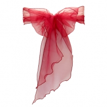 chair covers hire bolton pvc shower cover 1 90 free organza sash delivery with burgundy