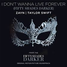 Tune Of The Week – Week 8 – Zyan and Taylor Swift I Dont Wanna Live Forever