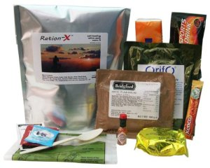 MRE ration X survival pack