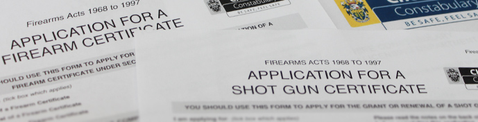 uk firearms law certificate