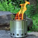 Wood Burning Cook Stove Solo Stove Lite and Pot 900