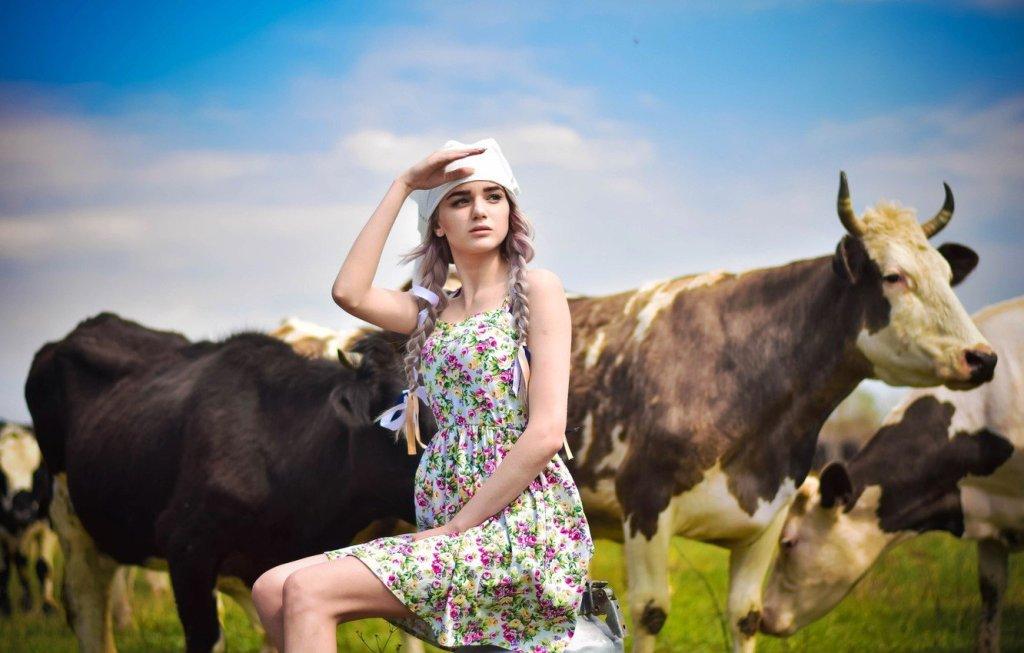 نضارة الوجه- بنات اوكرانيا