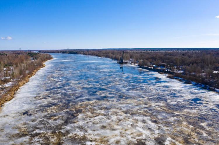 ارتفاع منسوب مياه أنهار حوض بريبيات والسلطات المحلية تحذر