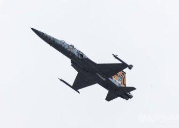 اصطدام طائرتان حربيتان فوق تايوان