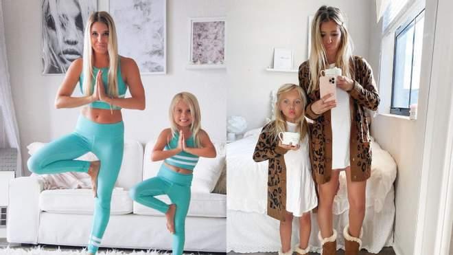 الأم وابنتها تخلق مظهراً عائلياً أنيقاً لقد أصبحوا نجوماً حقيقيين