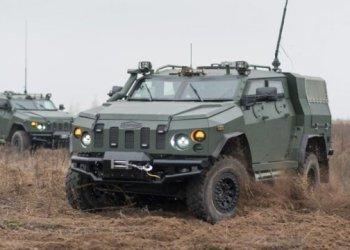 تسليم ثالث شحنة من ناقلات الجنود المدرعة Novator الى الحرس الوطني الاوكراني