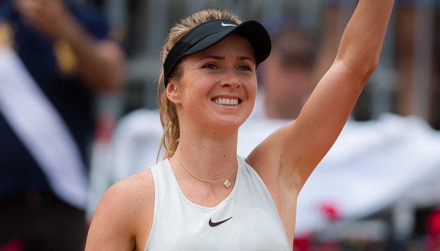 لاعبة التنس الاوكرانية إيلينا سفيتولينا