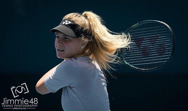 نادية كيشينوك إلى ربع نهائي بطولة التنس في سان بطرسبرج