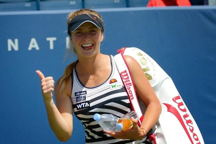 لاعبة التنس الأوكرانية إلينا سفيتولينا