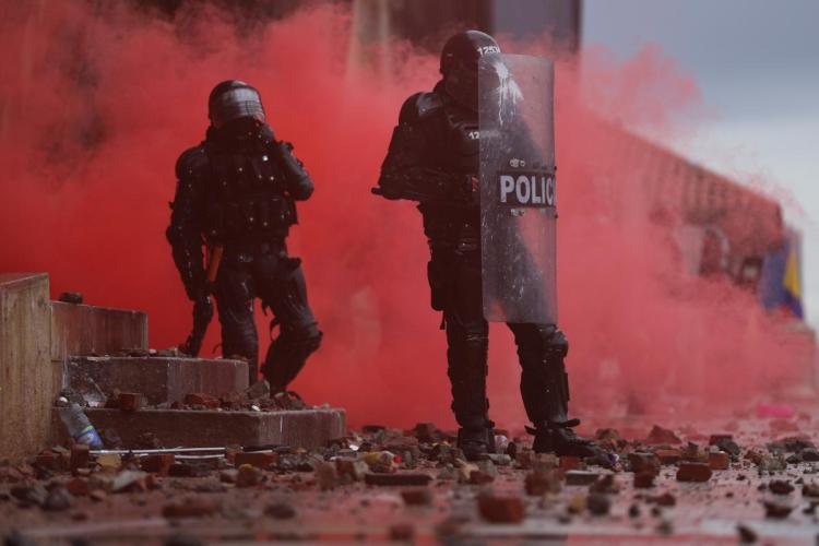 استمرار الاحتجاجات في كولومبيا