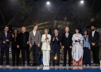 الرئيس وزوجته يشاركان في توزيع جوائز شيفتشينكو