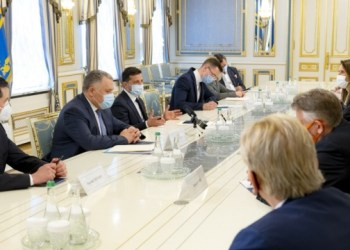 زيلينسكي يطلع وزراء خارجية دول البنلوكس عن الوضع الأمني في شرق أوكرانيا
