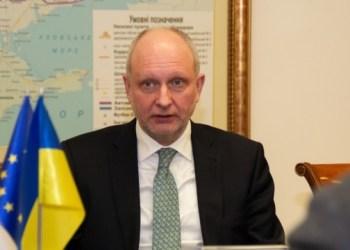 سفير الاتحاد الأوروبي لدى أوكرانيا ماتي ماسكاس