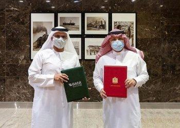 السعودية والإمارات توقعان مذكرة تفاهم لتعزيز أمن الطيران