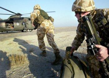 إسقاط مظليين بريطانيين في الصحراء الأردنية في تدريبات عسكرية