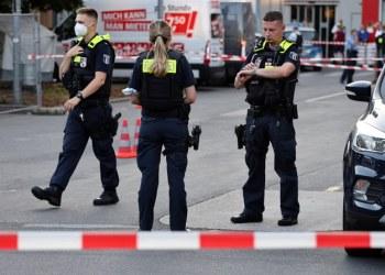 انباء عن اصابات بعيارات نارية في برلين